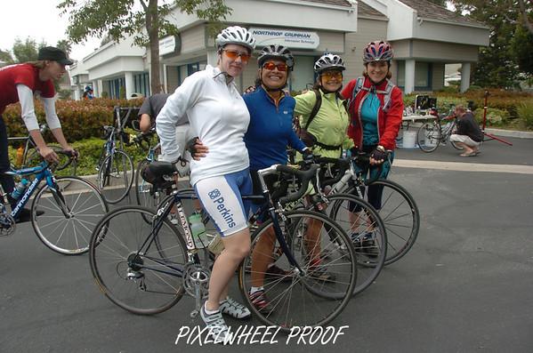 "4. Santa Barbara Ride 2007 - Sunday - April 29, 2007 Say Hello to ""Las Posas Headwinds"" and onto Helen's Finale"