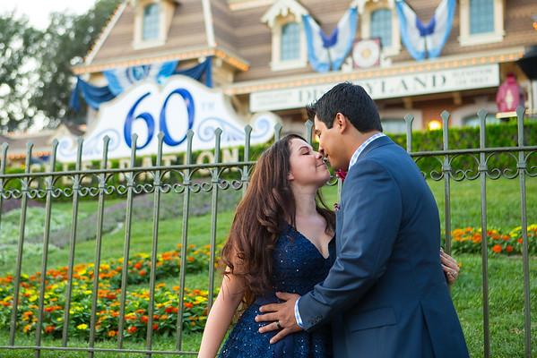 Lauren & Aldon Disneyland 2015
