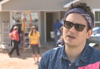 John Mayer volunteers with Fuller Center