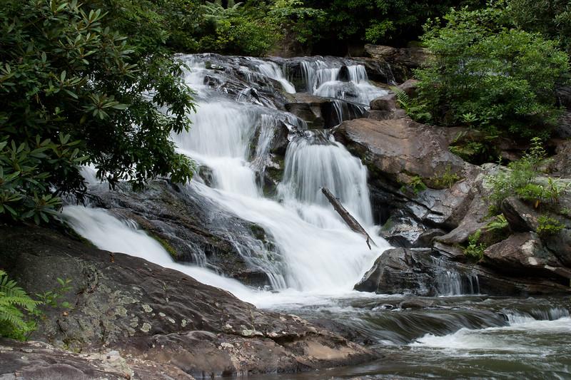 Falls on Big Creek at Three Forks