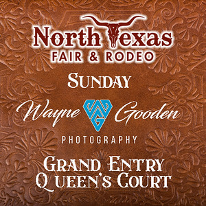 Sunday Night Grand Entry Queens Court