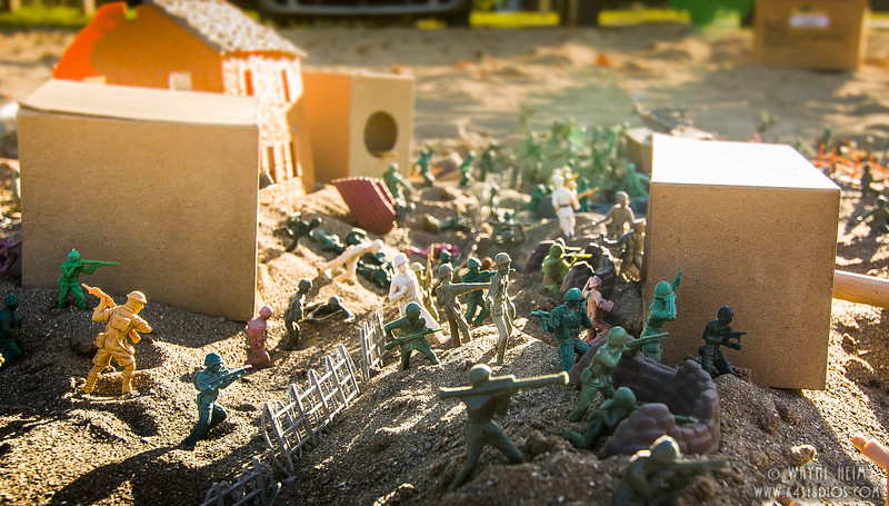 Mock Battle  Photography by Wayne Heim