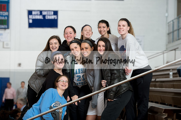 Ladies JV Basketball - Eaton Rapids at Lansing Catholic
