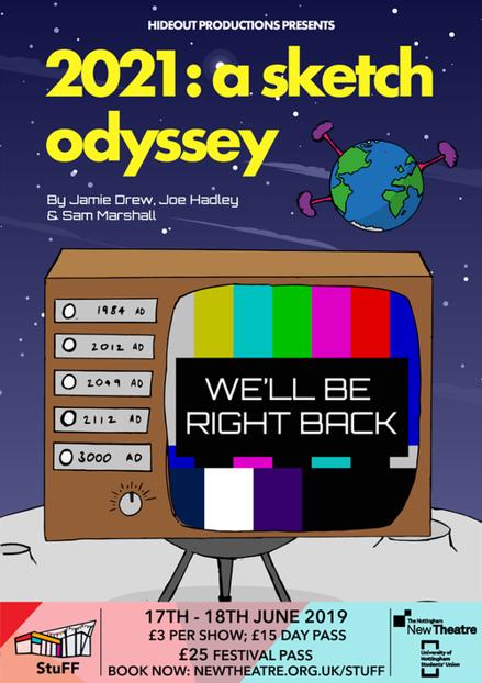 2021: A Sketch Odyssey poster