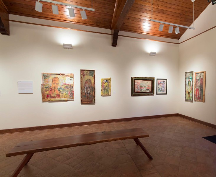 The Object Tells a Story: African-American Folk Art from Florida, January 2014, Installation View
