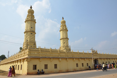 Masjid-e-Ala aka Jumma Masjid - Tipu Sultan's Mosque
