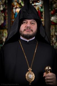 Bishop Abgar Hovakimyan - photo session 2014 - select