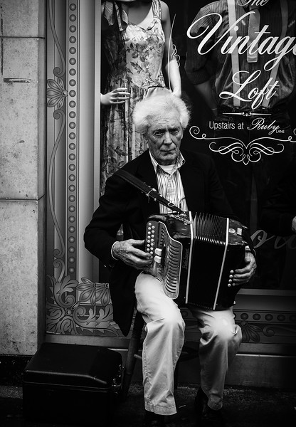 The Haunted Accordion Player