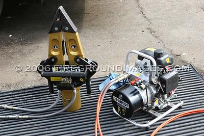 New Hurst Equipment for Rescue-5 (Bridgeport, CT) 2/2/06