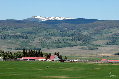 A Bar A Ranch, Wyoming