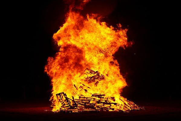 2011 Bonfire (Homecoming make-up) 01/27/11