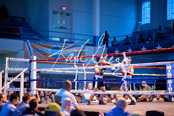 5 Jessica Price (Top Knotch Boxing) over Amy Reid (SRG Boxing)
