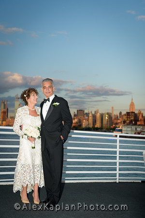 Wedding at Aqua Azul Yacht in Pier 60, Chelsea Piers, NY - Outtakes By Alex Kaplan Photo Video Photobooth Specialist