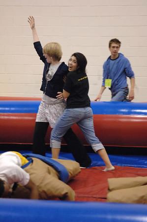 6/4/06 Sarah L vs Lauren T Sumo Wrestling @ NFHS All Night Grad Party