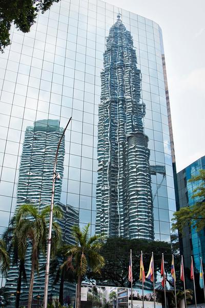 Kuala Lumpur. The Petronas Towers!