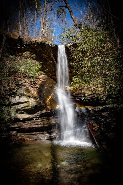 Moonshine Falls -- 1,570'