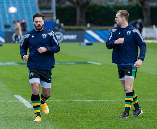 Leinster Rugby vs Northampton Saints, Heineken Champions Cup, RDS Arena, 19 December 2020