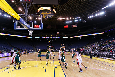 RCS Girls' Varsity Basketball @ Oracle Arena - Jan 28, 2014