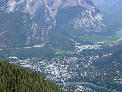 Mom & Dad in Banff, Canada