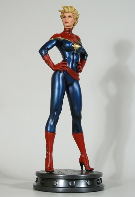 Carol Danvers as the New Captain Marvel