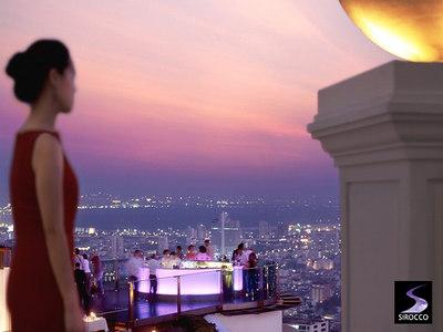 Sirocco Restaurant, Bangkok Thailand