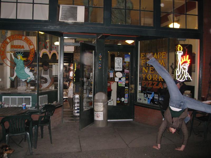 Stacee Calderon - New York Pizza, Portland, OR - 2/2008