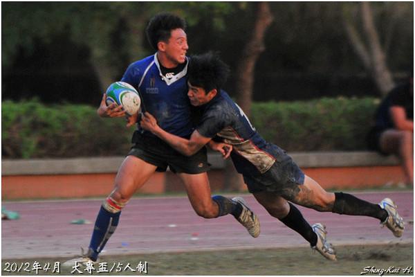 2012大專盃15s-甲組-輔仁大學vs台灣體院(FJU vs NTCPE)