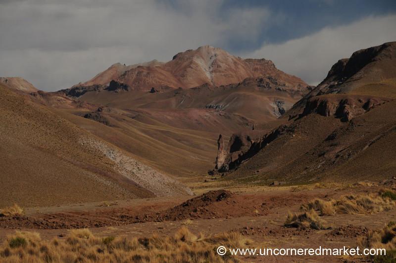 Golden Red - Salar Tour, Bolivia