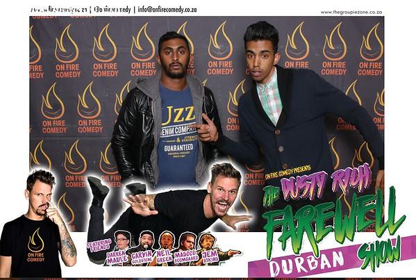 The Dusty Rich Farewell - Durban Show