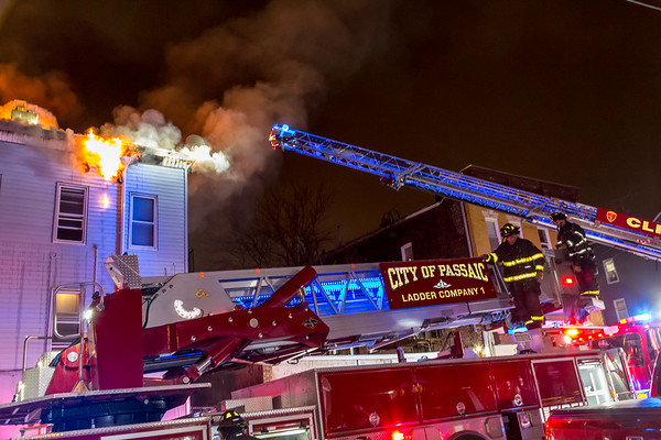 Passaic NJ 4th alarm, 287 Hope Ave. 02-12-21