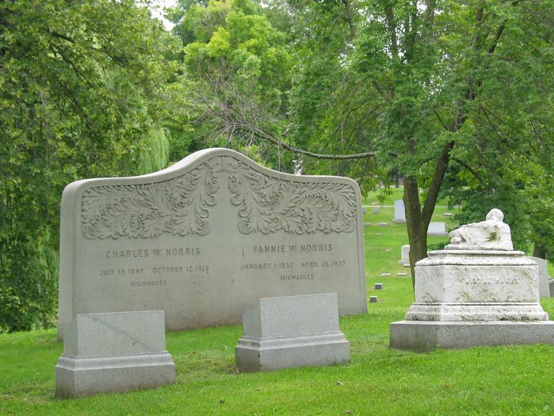 Charles W. Norris, Fannie W. Norris