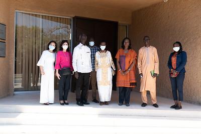 Visite musée Leopold SEDAR SENGHOR - Sénégal