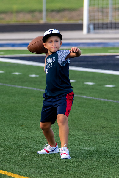 2019-08-30 -- Twinsburg Tigers Varsity Football vs Copley Varsity Football