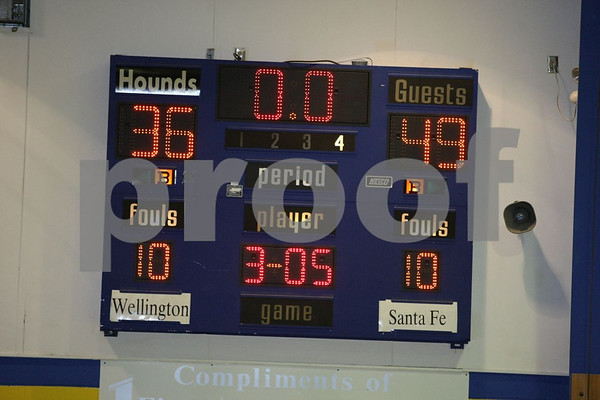 Varsity-Wellington-Napoleon vs Santa Fe 12-10-08