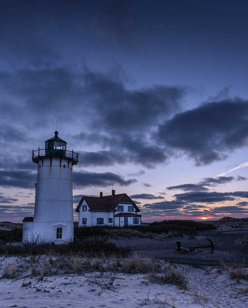 Race Point Lighthouse sunset - SOLD (more sizes available)