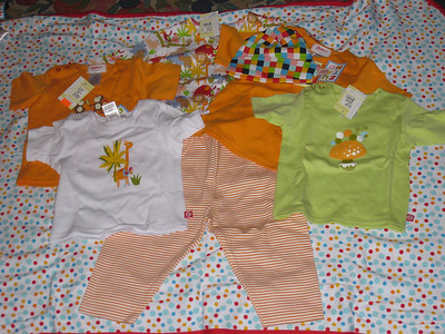 First baby clothes purchase