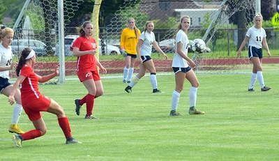 HS Sports - New Boston Huron Carleton Airport girls district soccer