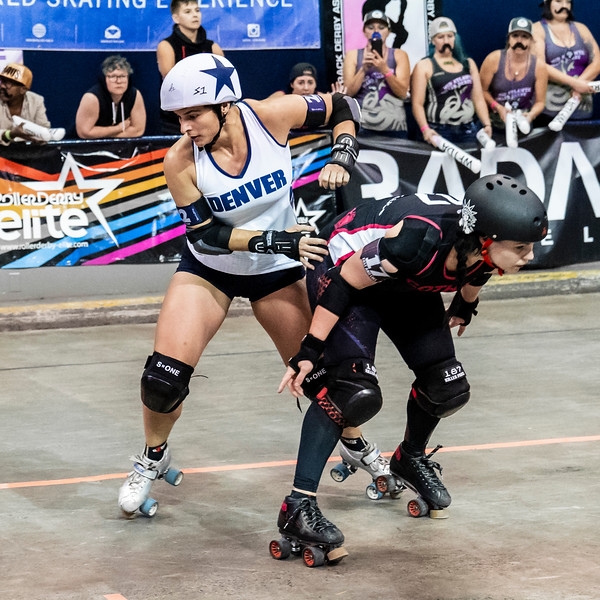 2018 WFTDA  Championships New Orleans Game12 Gotham Denver 3rd 4th ©Keith Bielat