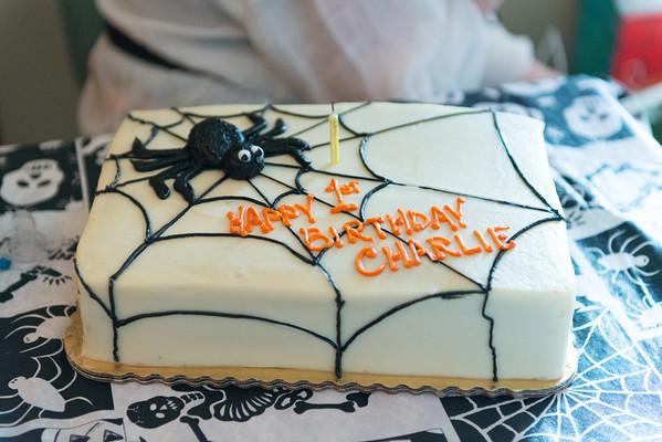 Charlie's First Birthday, October 2012