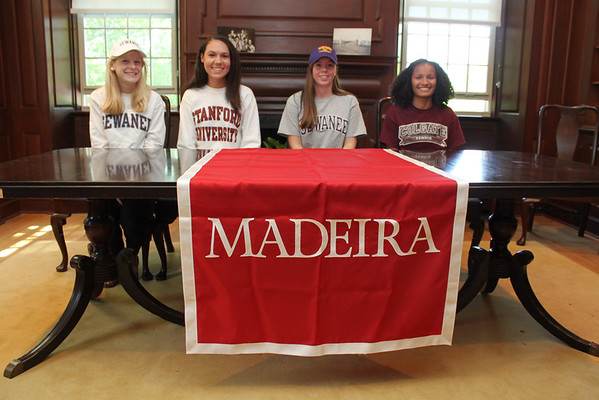 College Commitment - Claire Womack, Carter Ware, Mary McCarthy, Jordan Williams