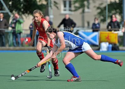 Scotland Under 16 Girls v England 2011
