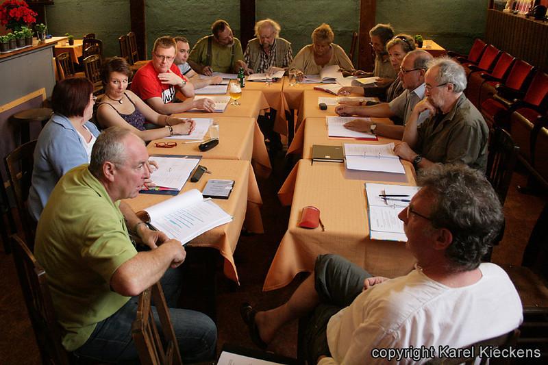 028. Stemmenrepetitie in Tal-foyer (17-06-2009).