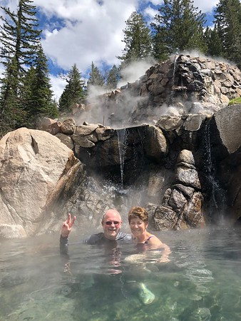 Spring at Strawberry Park Hot Springs