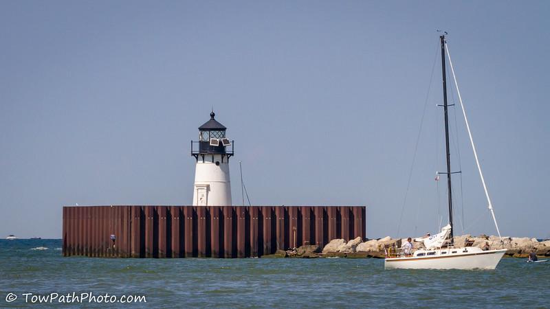 Cleveland Harbor Breakwater