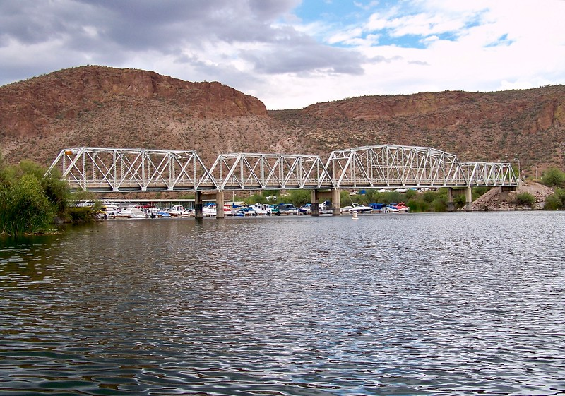 Boulder Creek Bridge at Canyon Lake (2009)