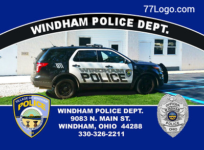 "Windham  Police Dept. ""Cop Cards"""