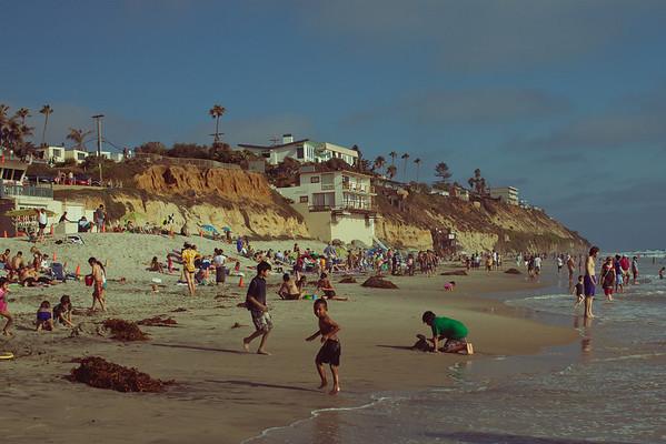 Moonlight State Beach | Summer 2010 | Escondido, CA