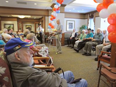 Glen Ellyn Honor Flight reception