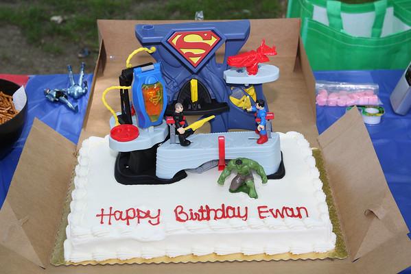 Ewan's Birthday