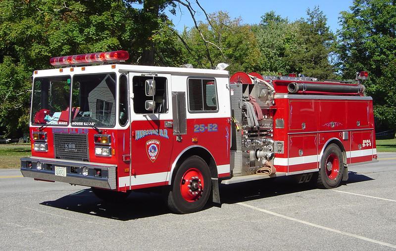 RETIRED  Engine 2 1998 KME 1500/1000